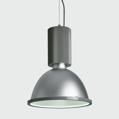 Maxicentral Pendant Lamp for iluminación direct with Reflector of Aluminium 250w HIT