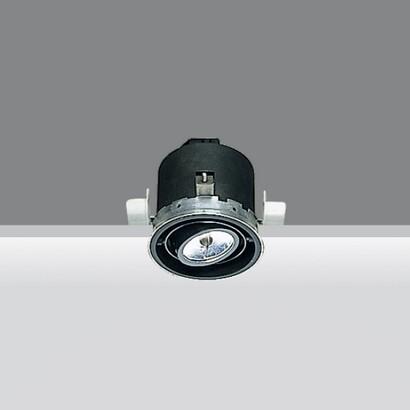 Minimal body óptico Small Round 1x50w 12 V QR-CBC 51