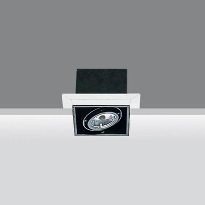Minimal body óptico Small Square 1x50w 12 V QR-CBC 51