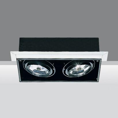 Minimal Cuerpos ópticos Grandes 2x75w 12V QR-111