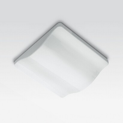 Plafóniere Onda ceiling lamp with emergency light and cabling inductivo 2x36w TC L.