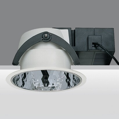 Sistema 44 Reflector faceteado with cabling electrónico with intensity regulator of flujo bright digital (DALI) 2x26w TC EL