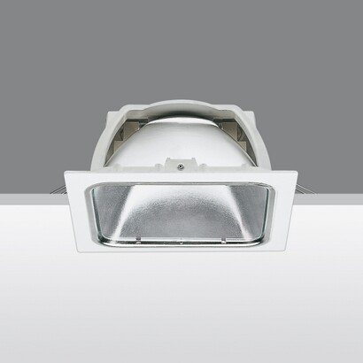 Sistema Easy Mh hal Recessed with Transparent glass 70W HIT of (Reflector of alta eficiencia)