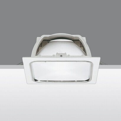 Sistema Easy Mh hal Recessed with Glass difuso 70W HIT DE