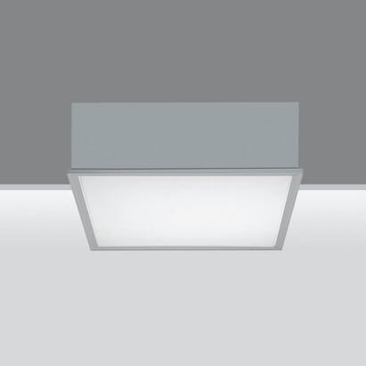 Sivra Compact Module Petit avec Diffuseur plan avec sistema de réglementation automática et équipement électronique avec dimmer del flujo clair digital 7x24W T16