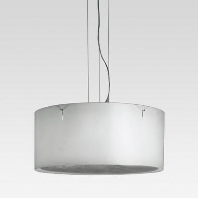 Tray Lámpara Colgante con emisión de luz difusa Fluorescencia 4x26w TC Del