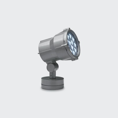 Woody projector LED white neutral with base and Power Supply electrónico incorporado óptica flood