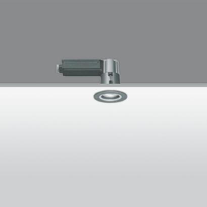 Iround Empotrable de Techo IP66, Cuerpo Pequeño, 20w HI Par 51 GX10 Orientable