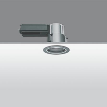 Iround Empotrable de Techo IP66, Cuerpo Grande, 100w PAR30S E27 Orientable