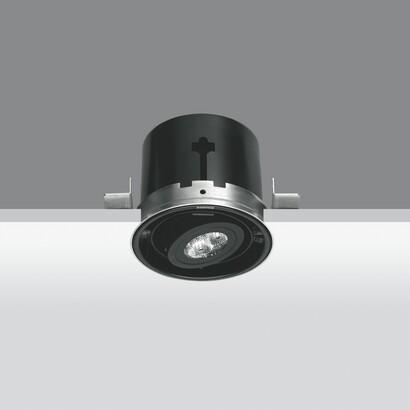 Minimal body óptico Small Round 3x2,3w LED white neutral