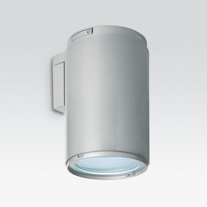 Iroll 65 Wall Lamp down/light body Large versión profesional with óptica fixed and electronic equipment with emergency
