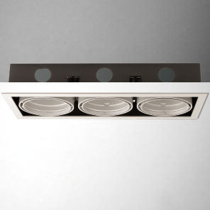Cardan Combi (body of Recessed) triple with Framework