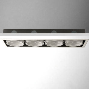 Cardan Combi (body of Recessed) cuádruple linear with Framework