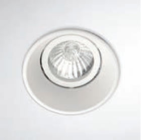Smooth Recessed Round QR-CB 51 12V 50W