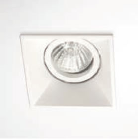 Smooth square recessed QR-CB 51 12V 50W