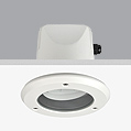 Serie LED Acqua Downlight Empotrable ø14,2cm LED 4w IP65