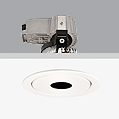 Cool Downlight with lampshade orificio central ø10,7cm Gx5,3 QR-CB 51 12v 50w