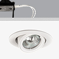 Turn & Fix Downlight adjustable GU5,3 QR-CB 51 12v 50w