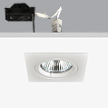 Turn & Fix Downlight Square 8,1cm GU5,3 QR-CB 51 12v 50w