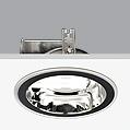 Serie 8000 Dowlight ø22cm Reflector Silver G24d-1 TC D 2x13w