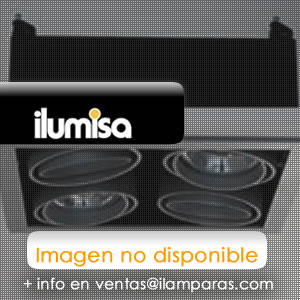 Turn & Fix Downlight Filtro y pantalla ø8,1cm G5,3 QR-CB 51/10º 12v 50w