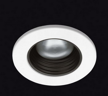 ECLIPSE Recessed fixed antiglare Cl II for R 50 40 W Bl