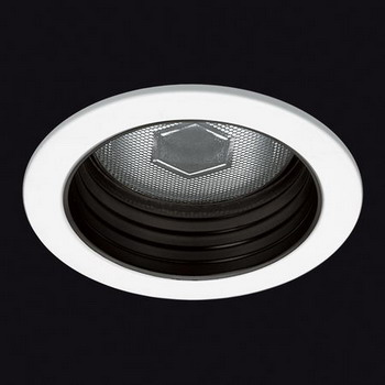 ECLIPSE Recessed fixed antiglare Cl II for PAR 38 100 W Bl