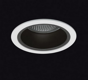 ECLIPSE Recessed fixed antiglare Cl II for PAR30 75 W Bl