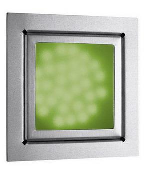 IOS square recessed 31 Leds BL Frio 230V Silver