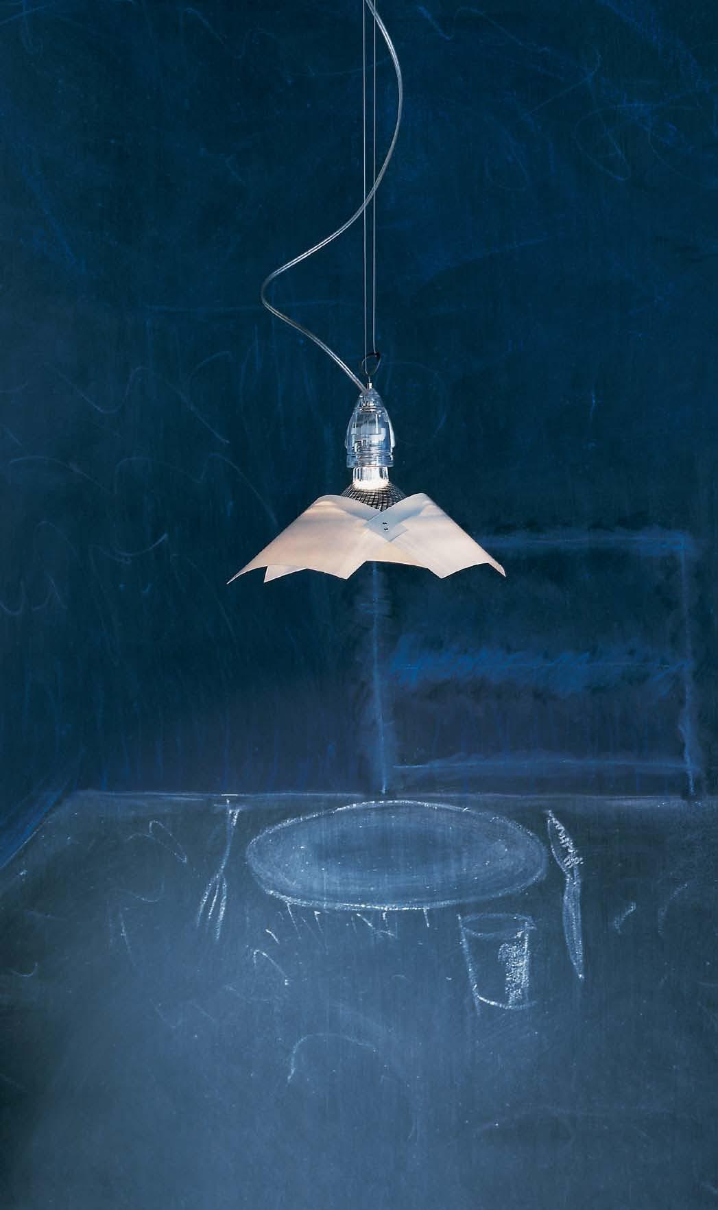 Lucetto Pendant Lamp Transparent 125cm