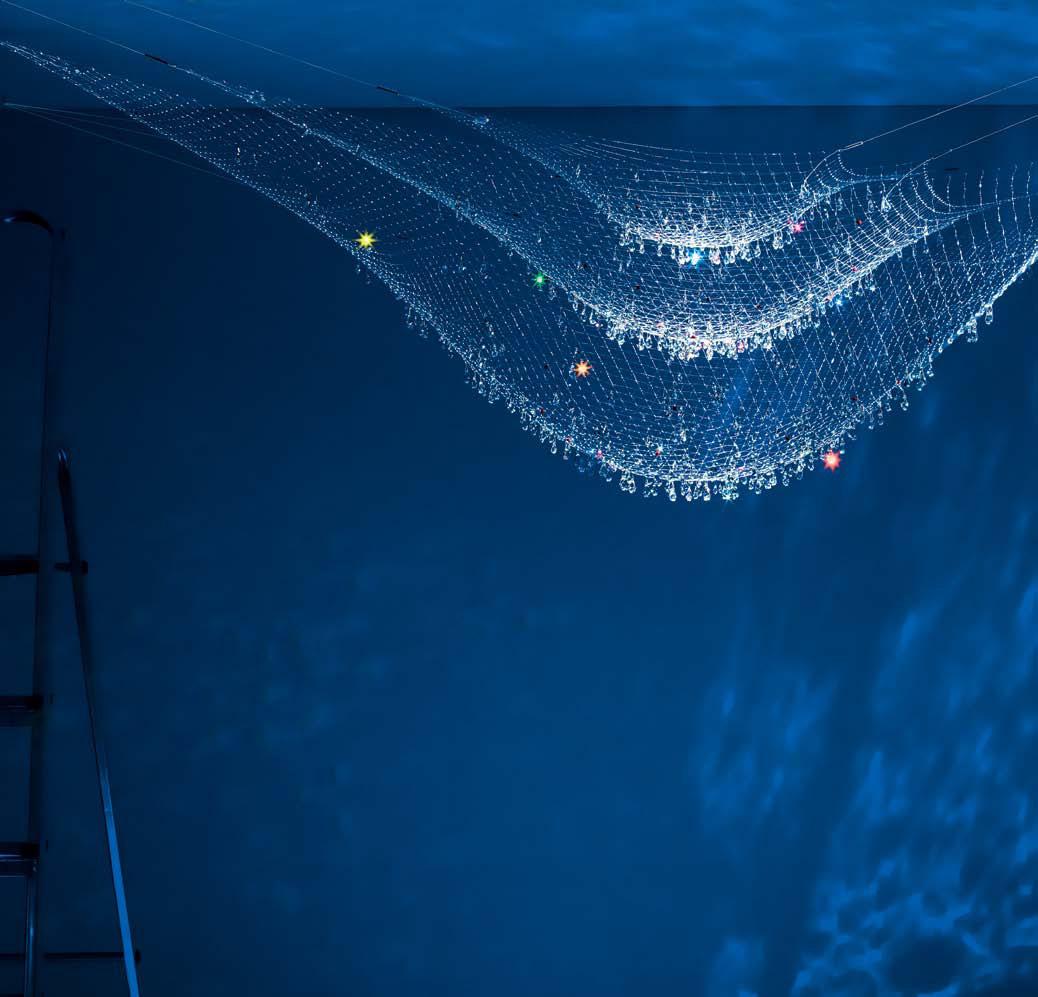 Lacrime del pescatore Pendant Lamp