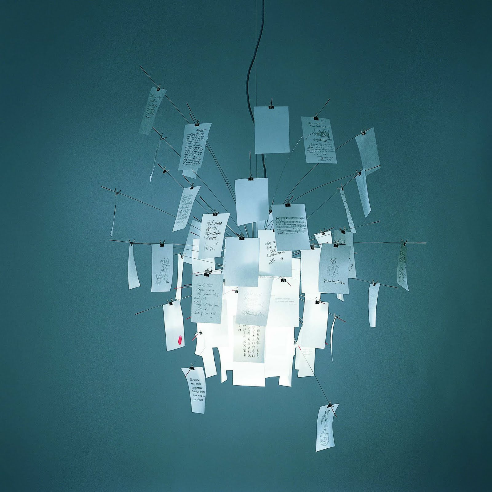 Zettel z6 Pendant Lamp 60x60cm