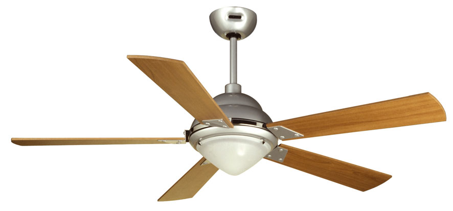 Maestrale Fan with light ¸128cm 5 blades Grey – Grey