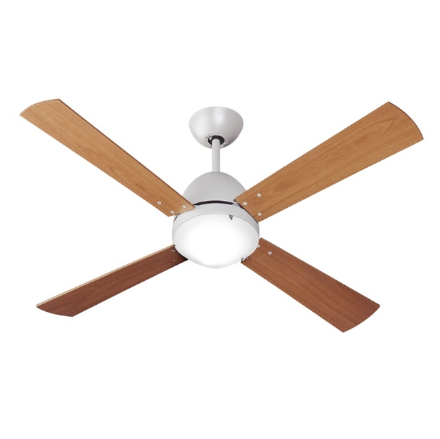 Maestrale Fan 128cm with light LED 75W 5 blades cherry with remote - Bronze