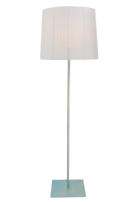 Oli&UnLlum P lámpara de Pie 1xE27 150w gris Organza