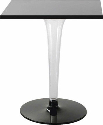 TopTop table for Dr Yes tablero cuadrado, leg and base round 60cm