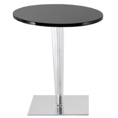 TopTop table for Dr Yes tablero Round, leg and base cuadradas 60cm