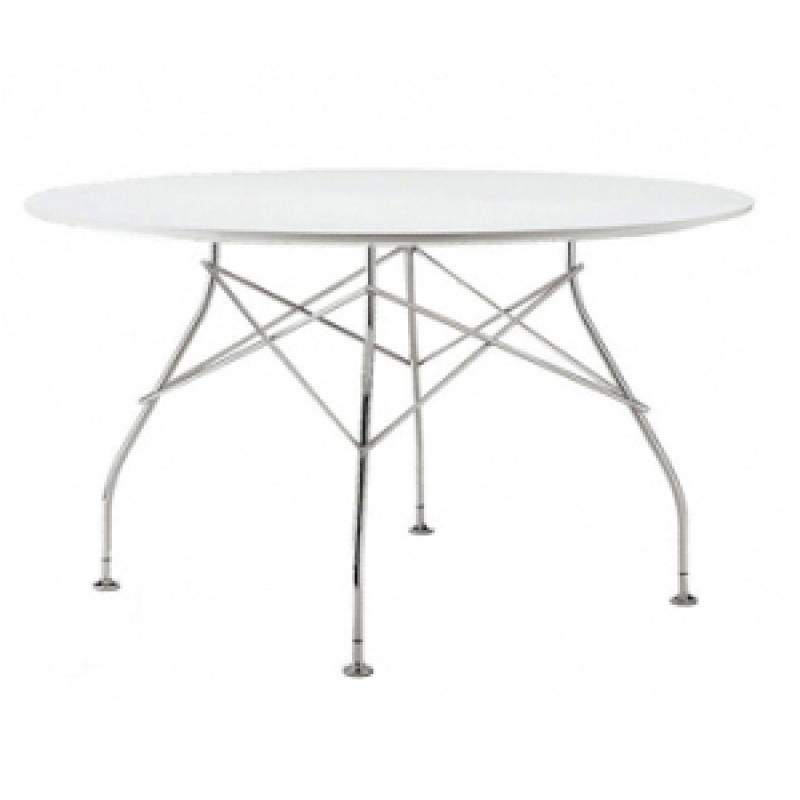 Glossy mesa redonda ¸130cm laminado