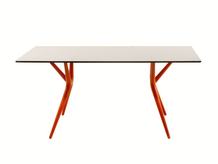 Spoon Table tisch von kontor plegable 140cm