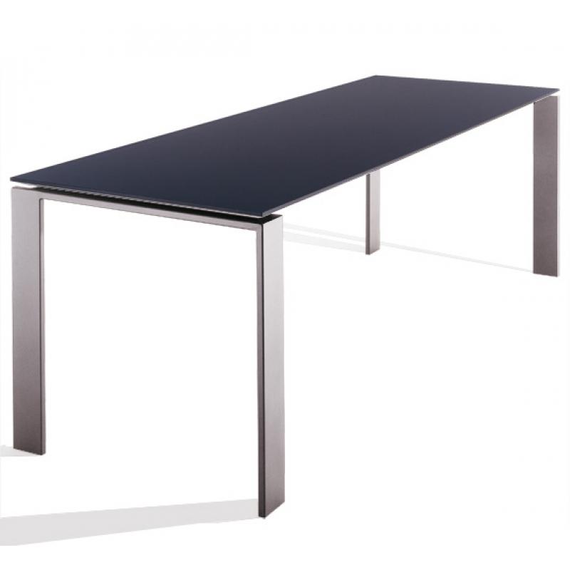 Four mesa rectangular metálica 158cm