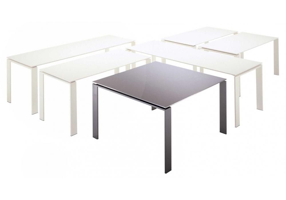 Four mesa rectangular metálica 223cm