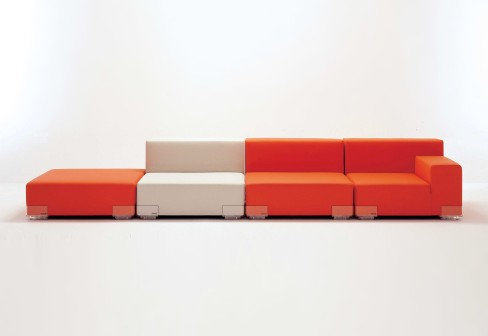 Plastics Modular Sofa simple