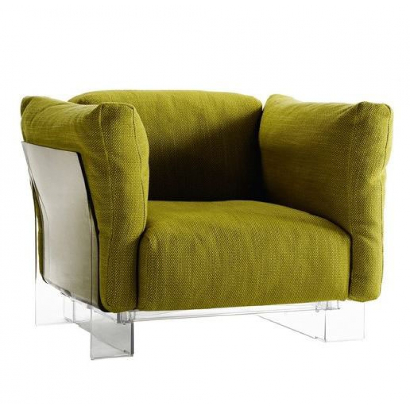 Pop Duo armchair Structure Transparent