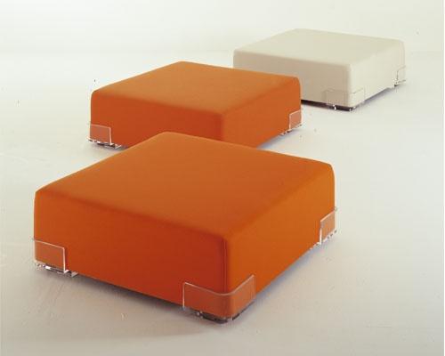 Plastics Duo Puf 114x34cm