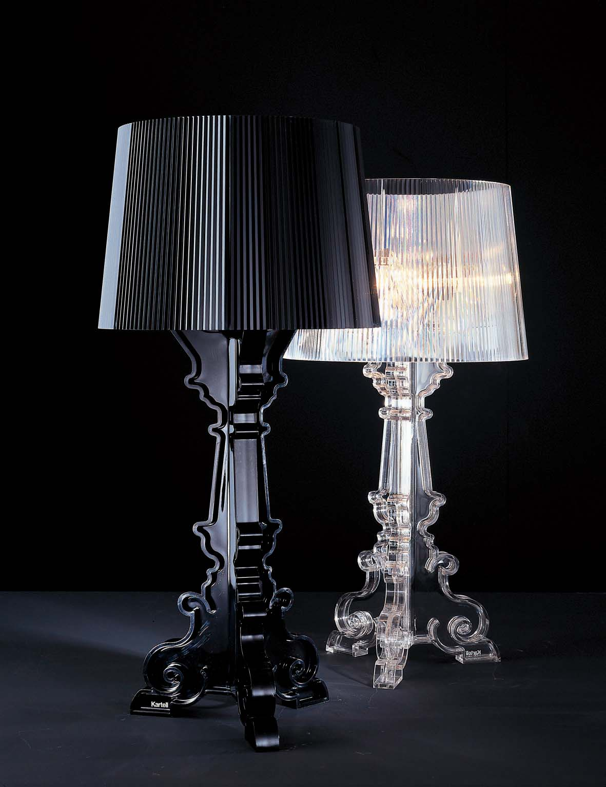 Bourgie Table Lamp with dimmer E14 IBA max 3x28W Halo