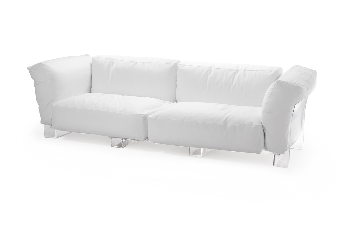 Pop Duo sofa tree seater Structure Transparent