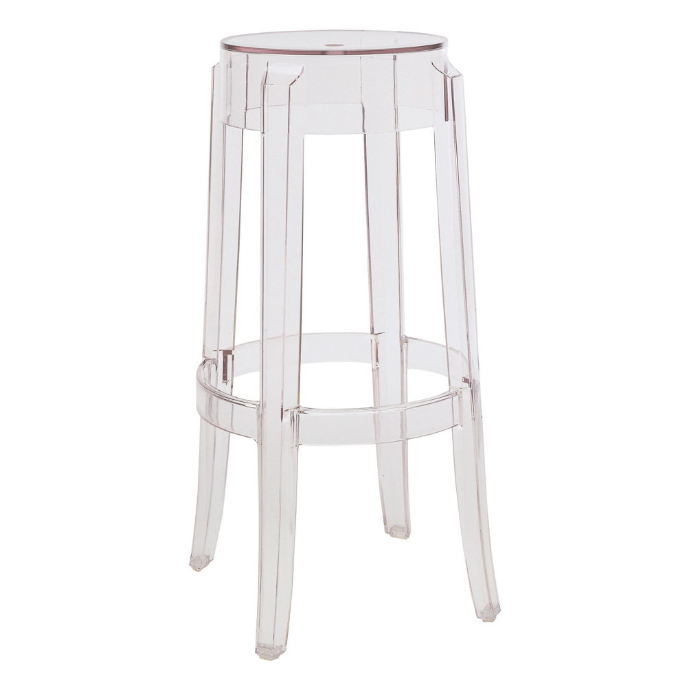 Charles Ghost big stool 75cm (2 units packaging)