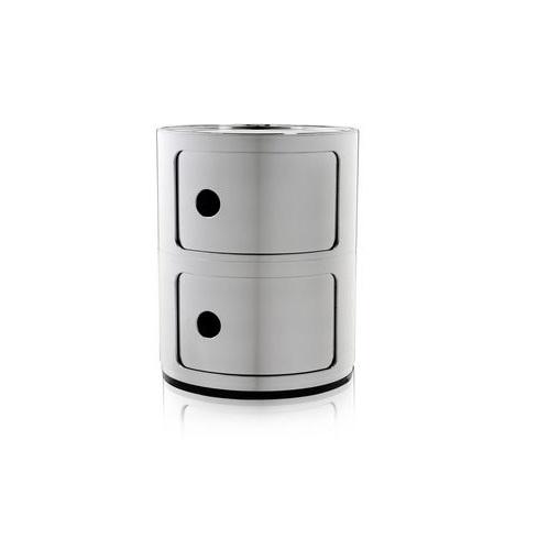 Componibili Module 61,5x42cm Silver