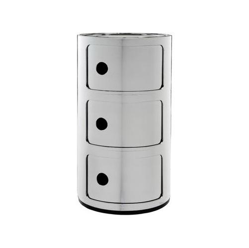 Componibili Modulo 69,5x42cm Silver