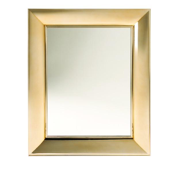 Francois Ghost espelho pequeño metal 65x79cm